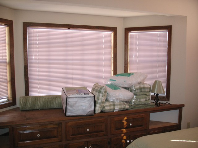 This is the light green bunk bedroom, and it has a big bay window. This room sleeps three people, but you can also put a pad down on top of this large dresser for a small person to sleep on.  There is also room to add an air matress or cot.